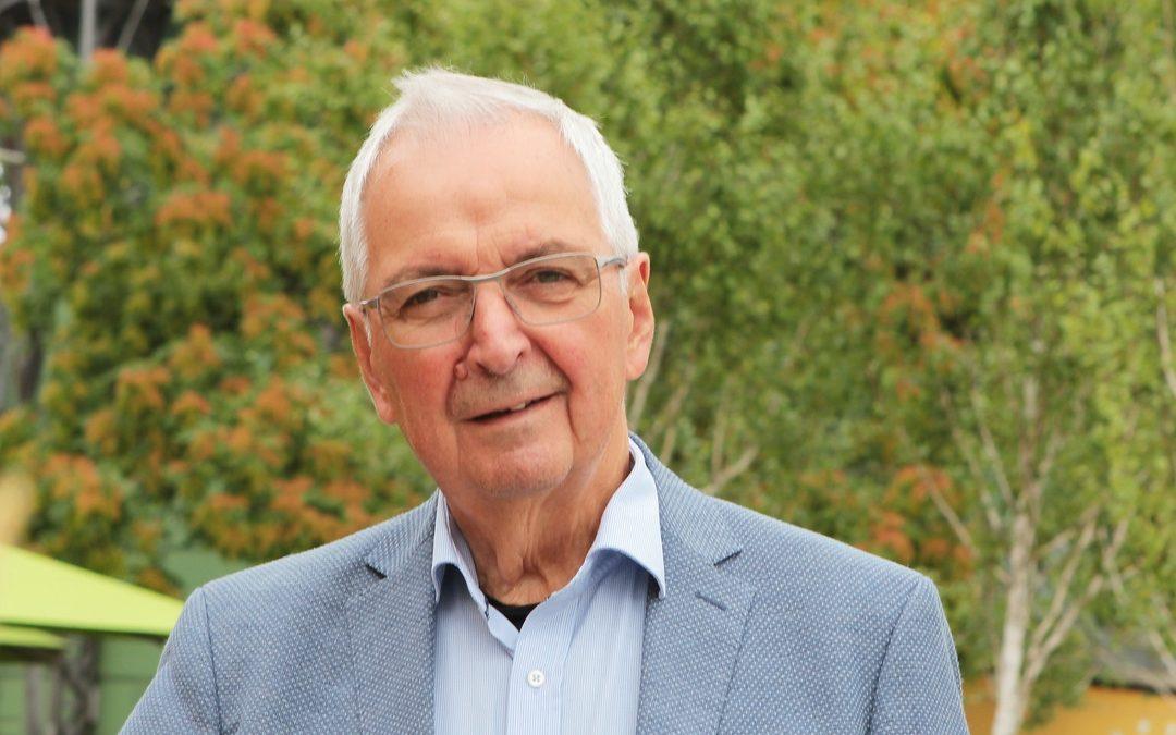 Klaus Töpfer ist Schirmherr 2019
